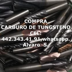 COMPRA BROCAS DE CARBURO